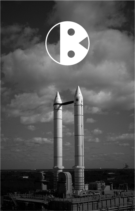 Eclipse Font Poster - Letter B